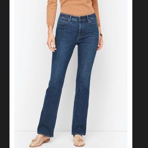 Talbots Flawless High Rise Barely Boot  Jeans